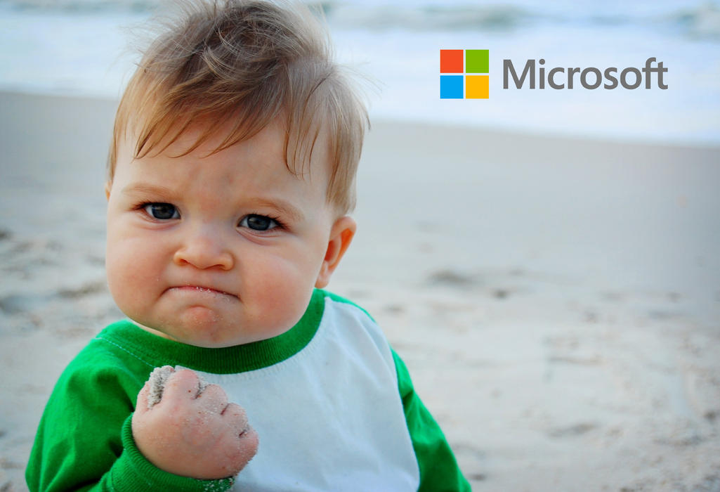 圖片來源:http://bloomrecruitment.com/wp-content/uploads/2014/12/success-kid_microsoft.jpg